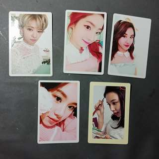 Official Twice Photocards