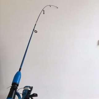 Blue Fishing Rod