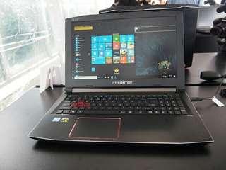 Laptop Acer Predator Helios 15 7700HQ 16GB Bisa Cicilan