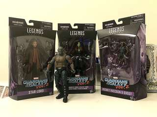 Marvel Legends Set Guardians of the Galaxy