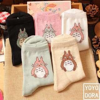 Lovely Totoro cotton sock