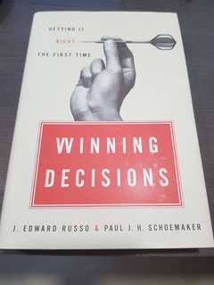 Winning Decisions by Russo and Schowmaker