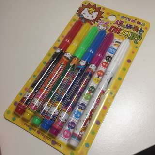 Colour changing markers