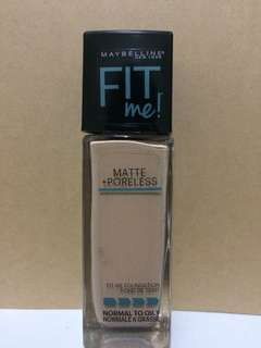 Maybelline Fit Me Foundation Shade No. 125