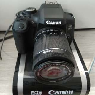 Promo bunga 0% Camera Canon EOS 750D kredit tanpa kartu kredit