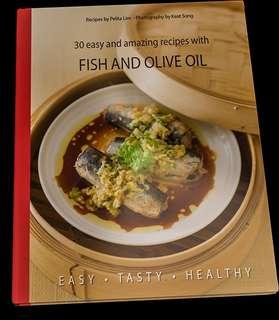 #letgo4raya 🆕Fish & Olive Oil (Cookbook)