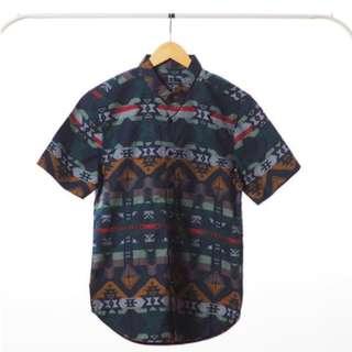 Blue Tribal Basic Shir
