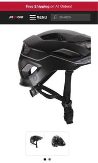 Evo All Mountain Open Face Helmet from the US Six Six One