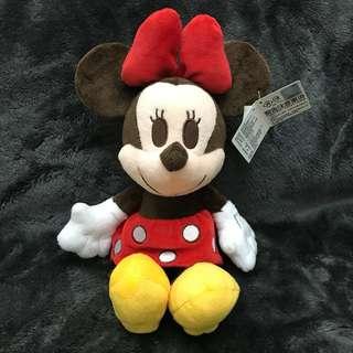 米奇 米妮 娃娃 玩偶 雷標 正版 超可愛 吊飾