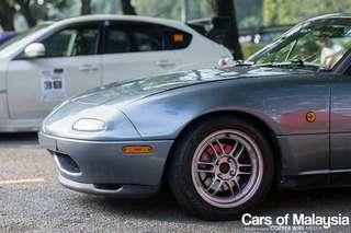 Original enkei Rpf1 15x7 +41 4x100 with free re71 tyres 40%
