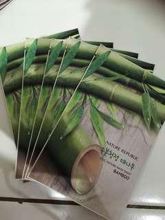 Real Nature Mask Sheet Bamboo