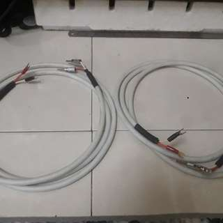 Chord Model Clearway speaker cable