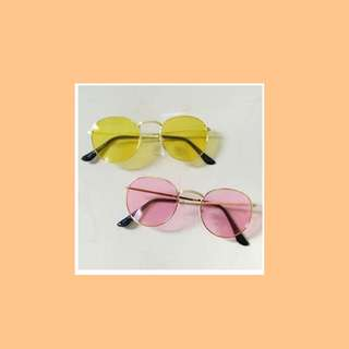 Yellow Sunglasses with free pouch