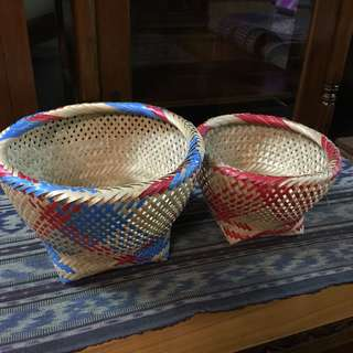 Basket (handmade) including postage