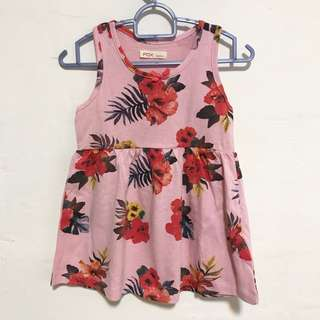 BN FOX Baby Girl Dress