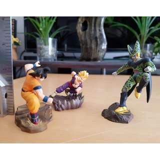 Dragon Ball Z cell gokou gohan Figure