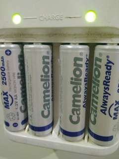 Rechargeable Battery A2 Camelion 2500 mAH