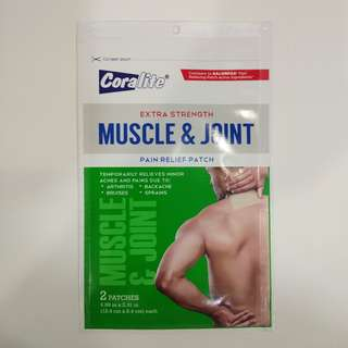Coralite Muscle and Joint Relief Patch Large Size