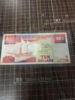 1 piece $10 error