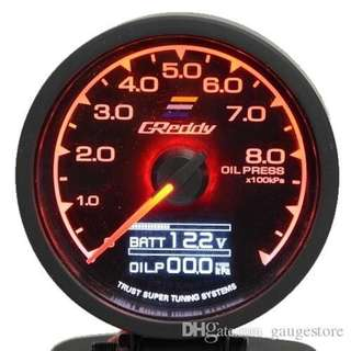 Greddy gauges