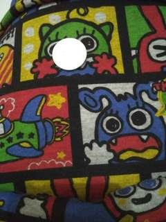 Bahan kaos fleece motif