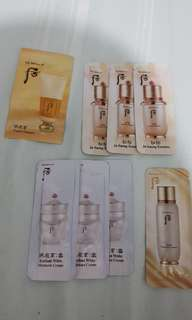 History of Whoo Samples