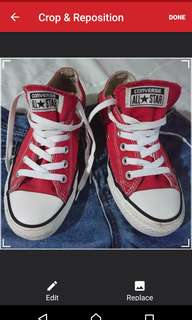 Authentic converse chuck taylor