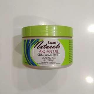 Lusti Naturals Argan Oil Curl Wave Twist Shaping Gel
