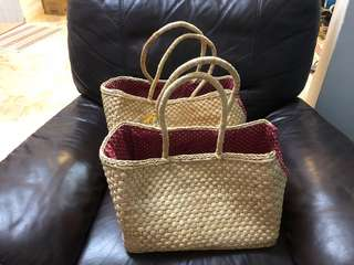 Woven Dog Carry Bag