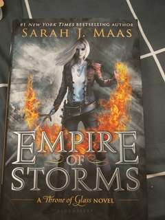 Empire of storm (throne of glass book 5)