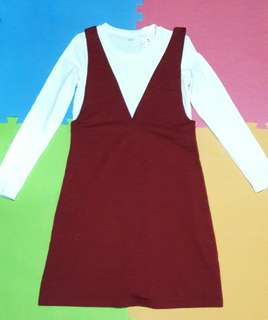 Korean Style Jumper Dress