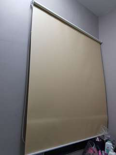 Curtain 2 panel blind