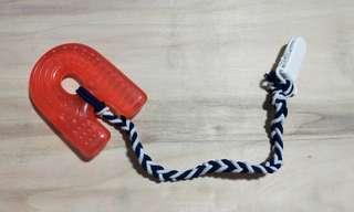 Handmade pacifier strap