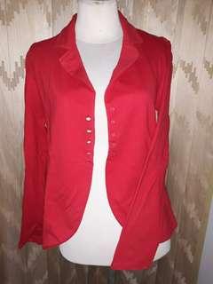 Outer/Cardigan Merah