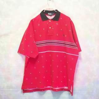 三件7折🎊 Ralph Lauren Polo polo衫 短袖 紅 北歐風 小深藍馬 極稀有 老品 復古 古著 Vintage