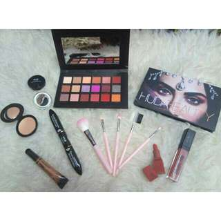 Paket hemat make up kosmetik huda beauty