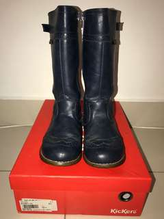 FREE Kickers Knee High Boots (unisex) with T&C