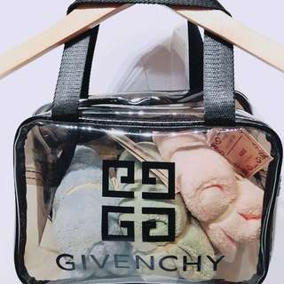 紀凡希 透明收納手提包