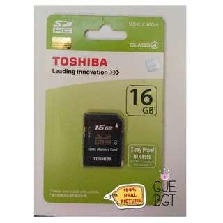 Memory Card Toshiba 16GB class 4