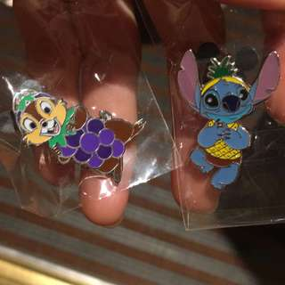 迪士尼 史迪仔徽章 Disney pins stitch game pins