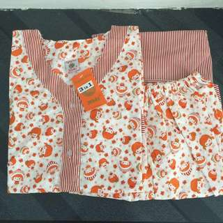 Brand new 3 in 1 Long and short pajamas