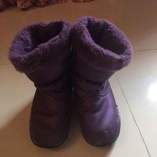 Original Fila Purple Winter Boots