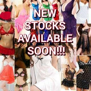 New Stocks Available Soon