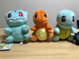 日本購入 神奇寶貝 寶可夢 御三家 傑尼龜 小火龍 妙華種子