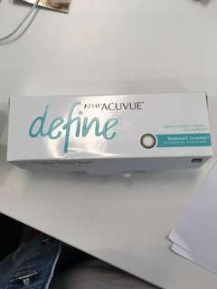 One Day Acuvue Define 閃鑽金 150度