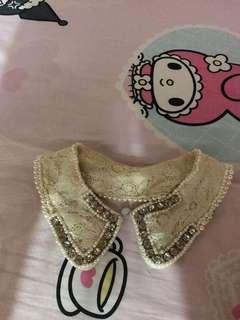 珍珠蕾絲假領💕lace