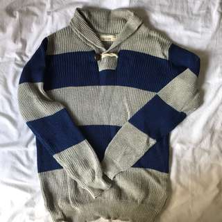 Zara boys Stripes knitted Sweat Top