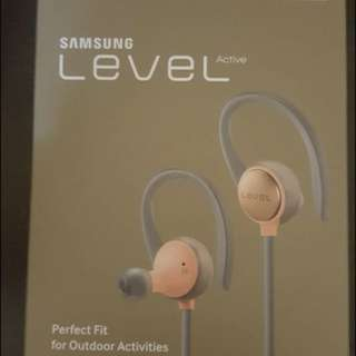<全新> Samsung Level Active 藍芽耳機