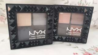 FULL THROTTE EYE SHADOW PALETTE NYX