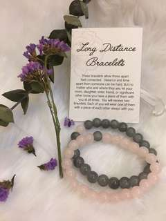 Long Distance Bracelets